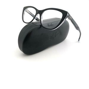 New Ray-Ban Frames Black Acetate RB5322 Womens